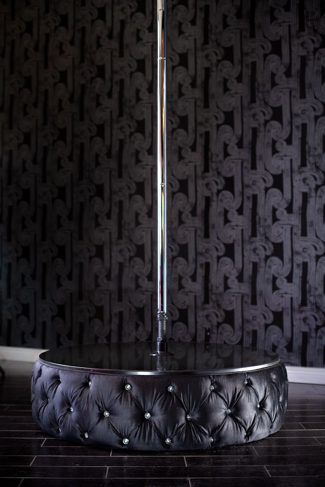 All sizes | 8031 TUFTED VELVET MINI STAGE WITH STRIPPER POLE - ACCENTED WITH SWAROVSKI CRYSTALS | Flickr - Photo Sharing!