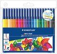 Staedtler Noris Club 326 WP20 Fibre Tip Pen In Wallet - 20 Assorted Colours: Amazon.co.uk: Office Products