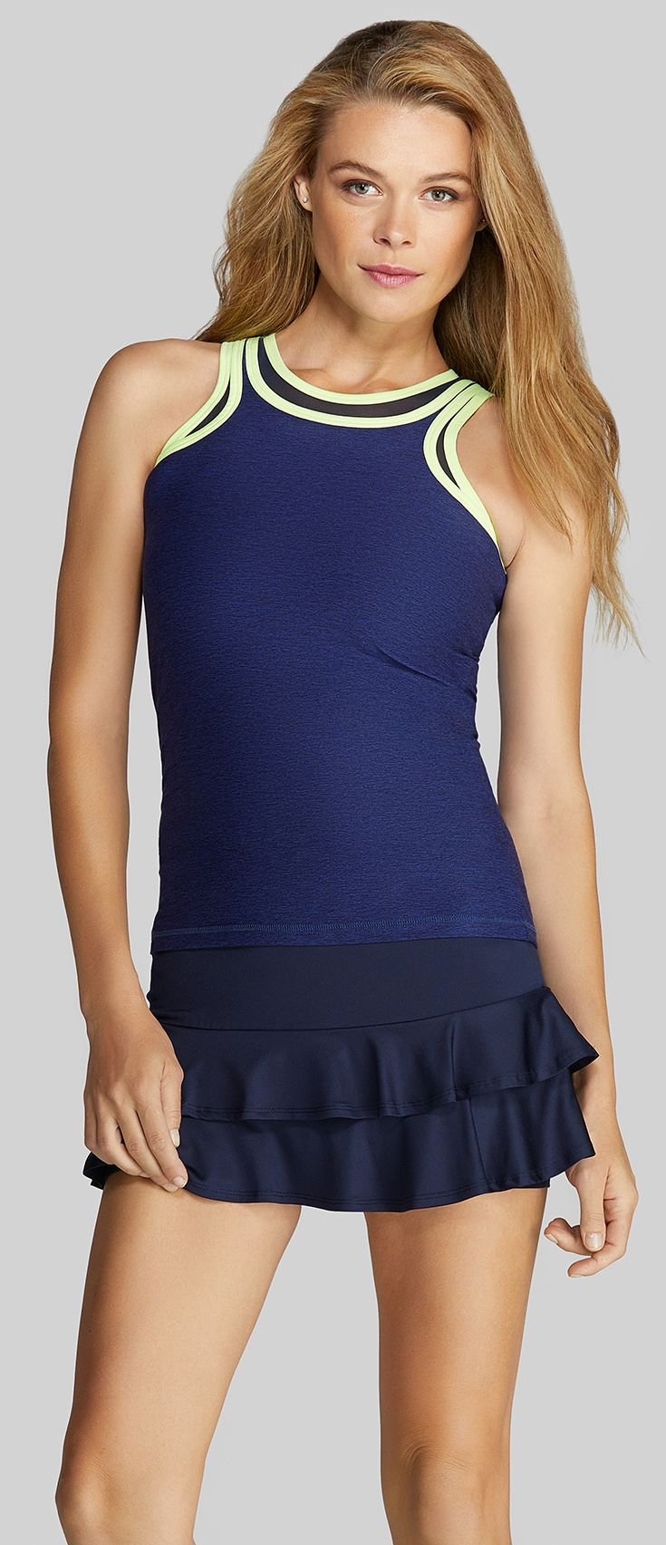Check Out The Newest Women S Tennis Apparel Line From Tail The Tail Bright Lights Collection Includes Perform Tennis Clothes Tennis Outfit Women Tennis Skirts