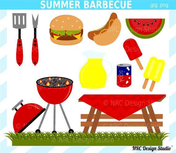 Summer BBQ Clip Art