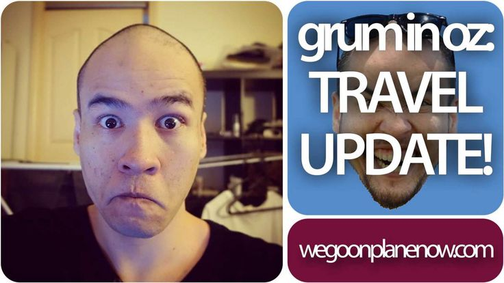 Hey, grum is back! Over the next few weeks he'll be jumping on a plane, several in fact, and will be vlogging regularly on this channel.