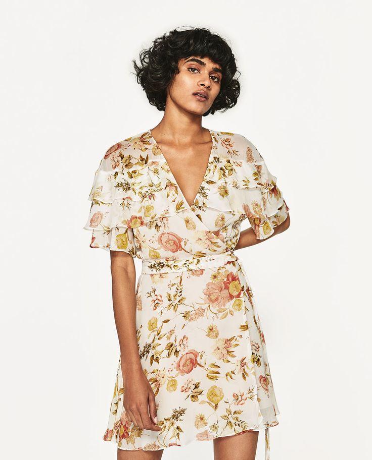 MINI DRESS WITH PRINT-View All-DRESSES-WOMAN-SALE | ZARA United States