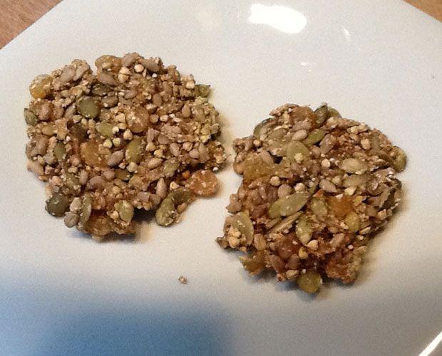 Biscuits aux bananes crus - Recette au déshydrateur