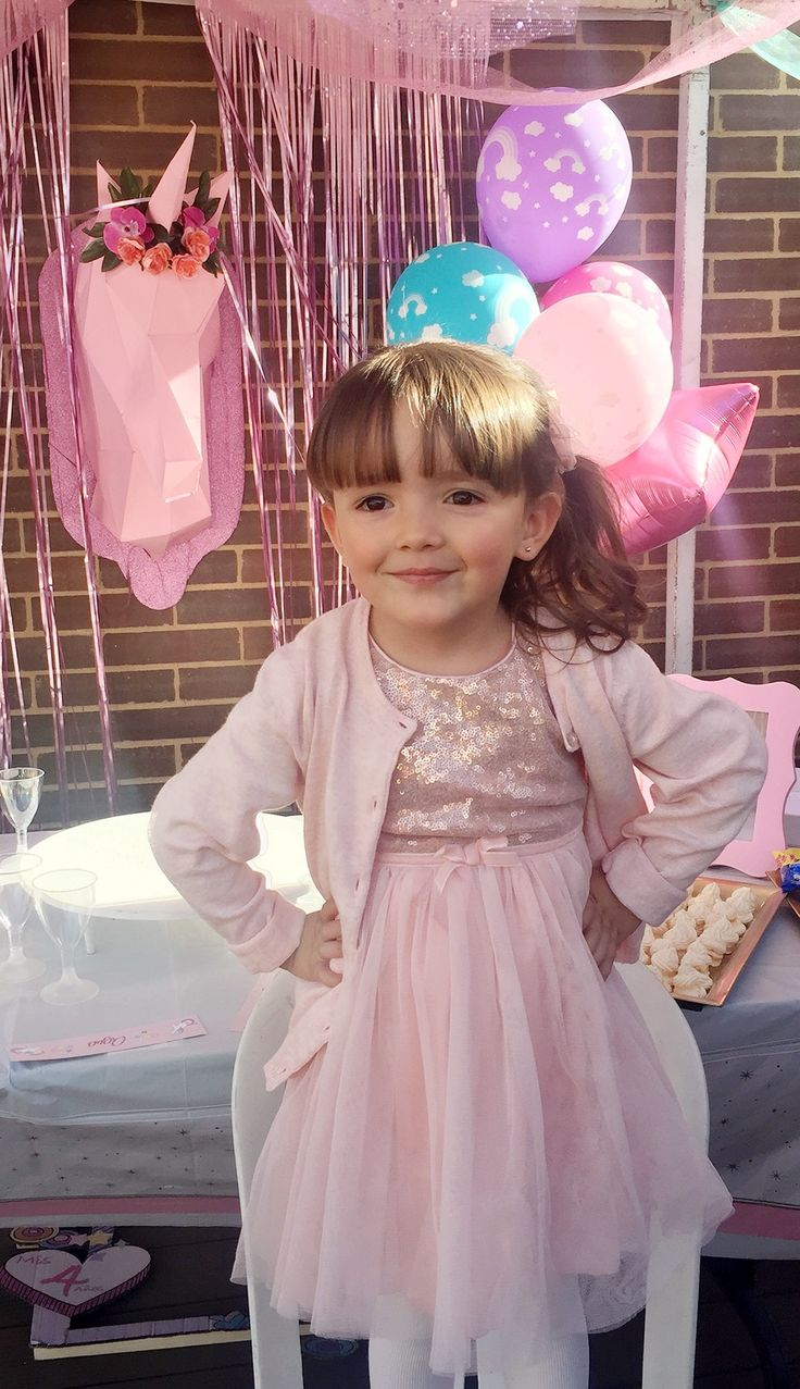 Baby girl Fashion outfits of the day + moda bebe  +  bebe niña a la moda + happy birthday + unicorn