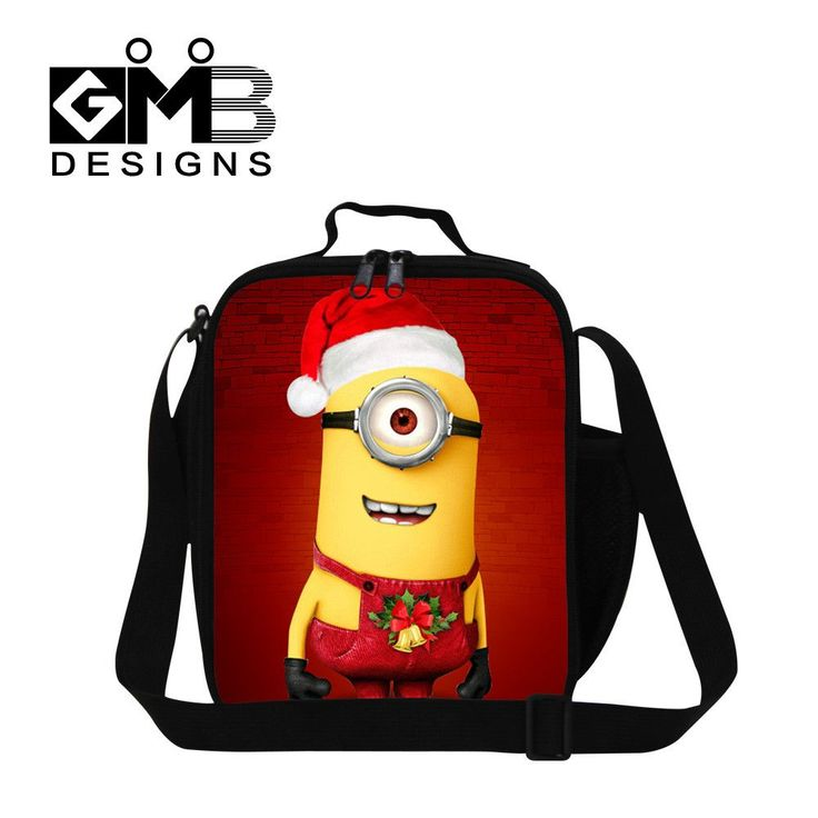 2016 hot sale children cartoon insulated lunch bags thermal lunch bag girls student food bag for travel women crossbody lunchbox