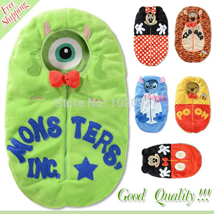 Find More Sleepsacks Information about Free Shipping New Arrival Newest Fashion Cotton Lovely Cartoon Baby Sleeping Bags Kids Sleep Sacks 6 Colors,High Quality bag gaming,China bags of cotton candy Suppliers, Cheap bag filler from anne_ruru  on Aliexpress.com