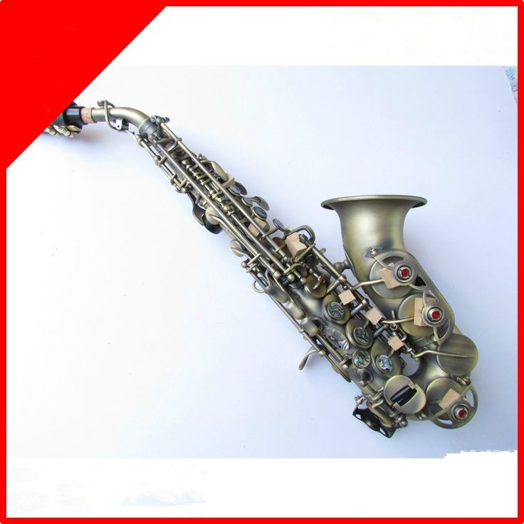 329.60$  Buy now - http://alipm8.worldwells.pw/go.php?t=32708461888 - free shipping SelmerSaxophone BB High Tone Curve Bell B Curved Soprano Sax saxofone Saxe Musical Instrument for adults Children