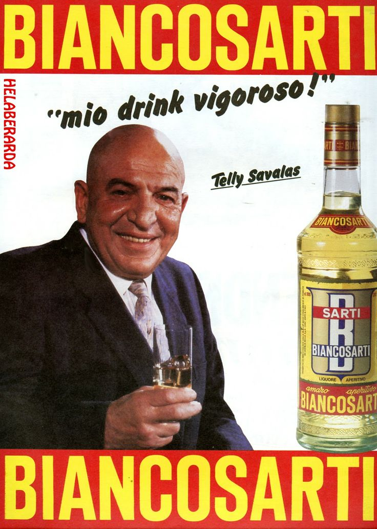 Vintage Italian Posters ~ #Italian #posters ~ Biancosarti Savalas