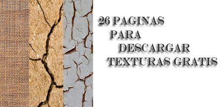 26 Paginas para descargar texturas gratis | Tutor Grafico