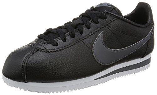 Nike Classic Cortez Leather, Zapatillas de Running para Hombre, Negro / Gris / Blanco (Black / Dark Grey-White), 42 EU ✿ ▬► Ver oferta: https://cadaviernes.com/ofertas-de-zapatillas-nike-para-hombre/