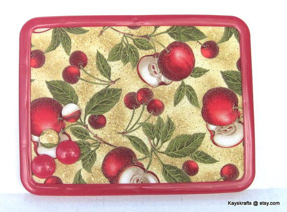 Autumn Apples Fall Fruit Magnetic Board Magnetic by kayskrafts