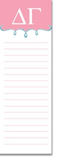 "Delta Gamma Sorority ""To Do List"" Notepads - makes a great bid day gift! www.trulysisters....: Gammadelta, Alpha Lambda, Gamma Alpha, Bid Day Gifts, Fall 2013, Axo Bid, Part Gamma, Bid Night, Rolls"