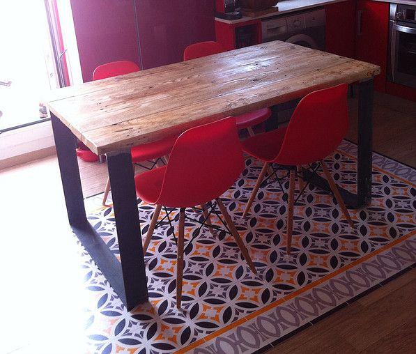 Mueble estilo industrial a medida m office pinterest - Mueble estilo industrial ...