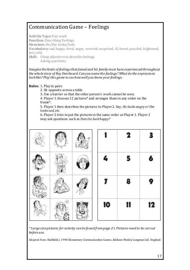 Boy Overboard EAL Booklet
