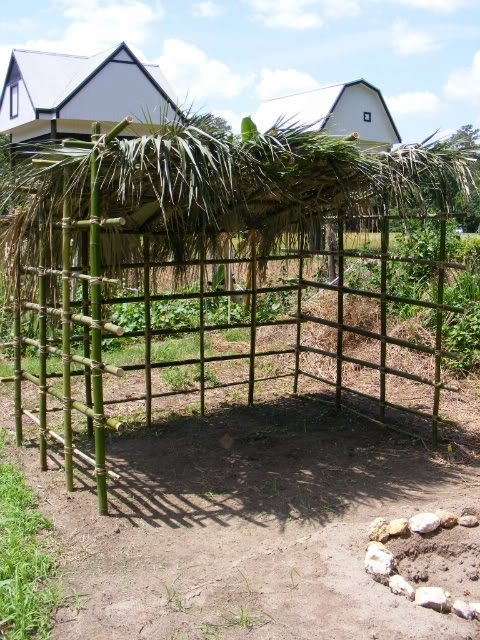 how to build a simple hut