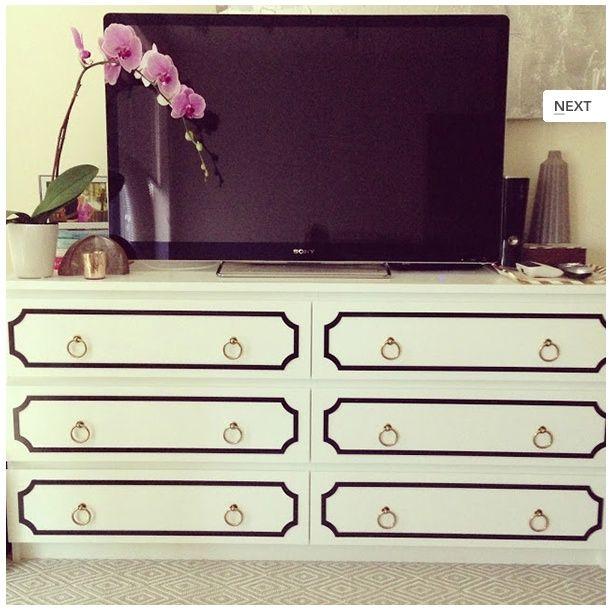 24 best ideas for malm dresser images on pinterest Ikea furniture makeover