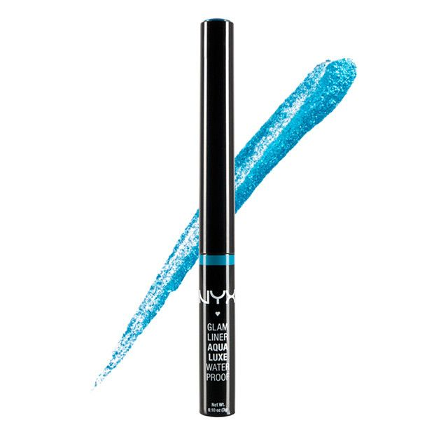 NYX Glam Liquidaqua Luxe Eyeliner - Glamazure