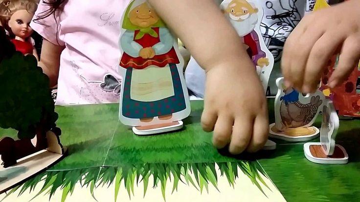 Русский сказка курочка-ряба