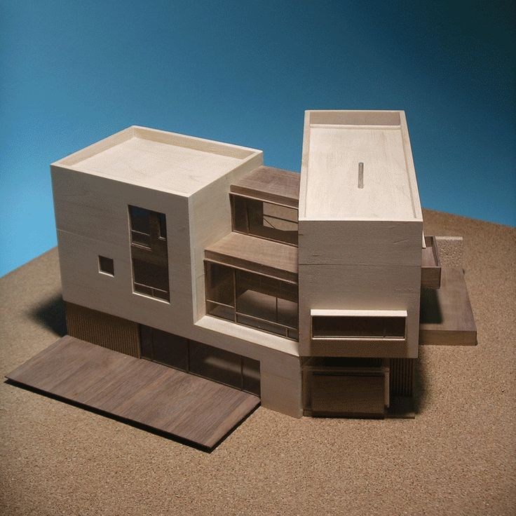 Scale model from a bird's eye perspective  http://www.hjlstudio.com/suip-777-residence