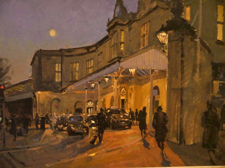 Peter Brown - Bath Spa Station