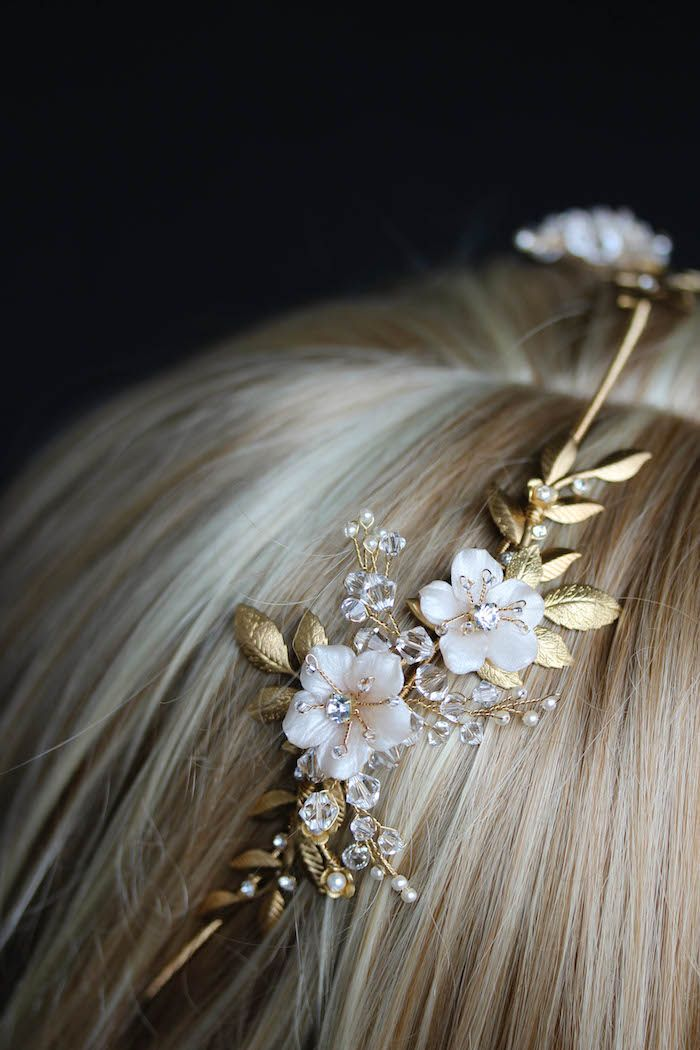 It was a pleasure working with Polish bride, Justyna, to create her beautiful wedding crown headpiece. We loved her vision – a simplified version of the Dita boho bridal headpiece but a little simpler and more compact so it sat more as a headband rather than a halo. One of the things we love about …