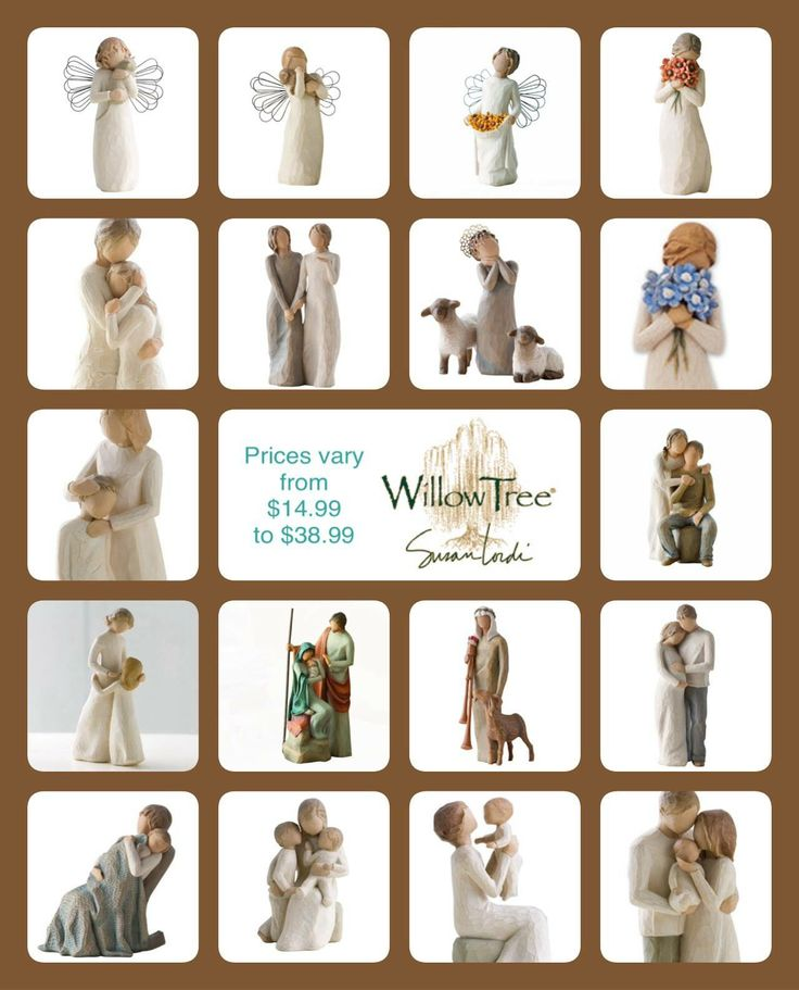 Willow Tree Figurines, Willow Tree, Gallery Wall