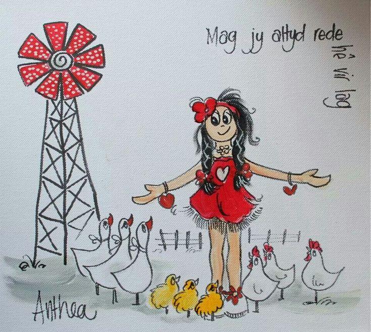 Mag... - deur Anthea Art __[AntheaKlopper/FB] #Afrikaans  #windpomp #BesteWense