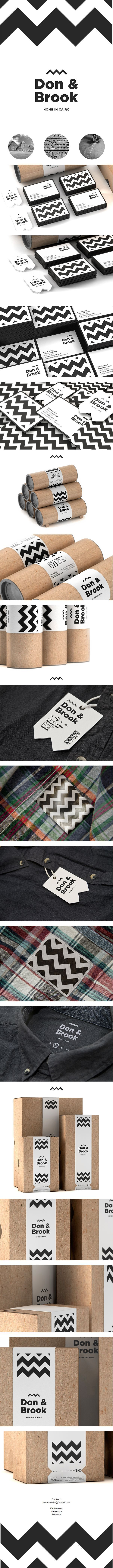 Don & Brook #identity #branding #corporate #design