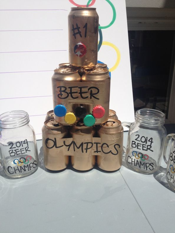 Winter Beer Olympics Drinking Games