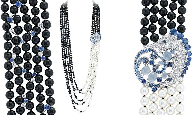 VAN CLEEF AND ARPELS Seven Seas CollectionCheval De Mers Necklace