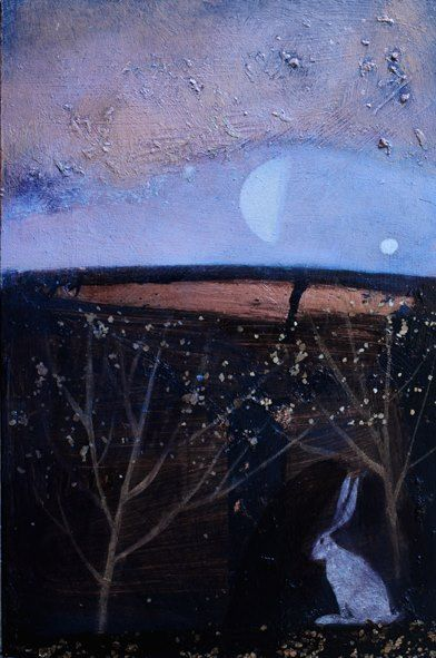 Below the bright fields by Catherine Hyde