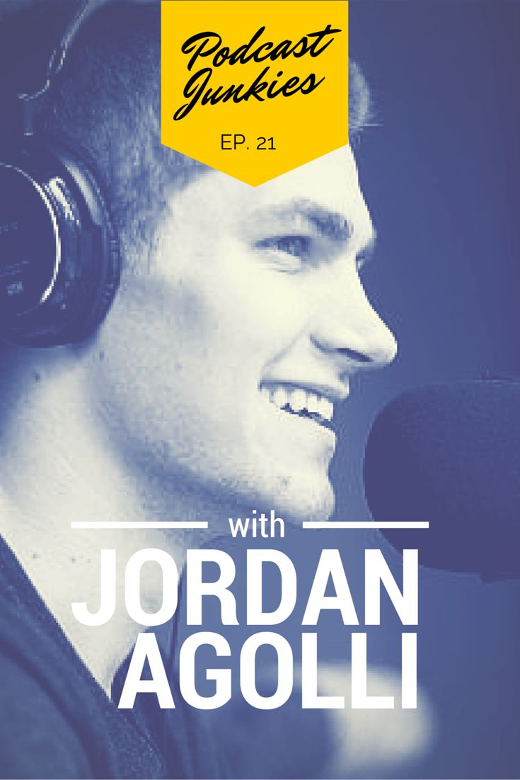 In this Jordan Agolli interview, we meet the dynamic host of the Teenage Entrepreneur podcast. At age 20, he's already run a successful 20-person business, and is now working on several big ideas. Inspirational indeed!  FULL SHOW NOTES: http://bit.ly/pcjnk_21  #teenagers #entrepreneur #startup #smallbusiness #podcast #interview #jordanagolli #teenageentrepreneur #teenpodcast #21 #podcastjunkies