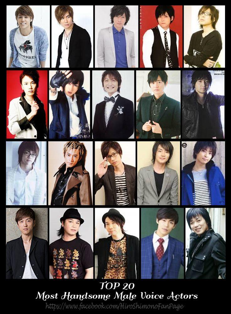 """jeanypure14: """" Top 20 Most Handsome Male Voice Actors 1. Mamoru Miyano 2. Suzuki Tatsuhisa 3. Daisuke Ono 4. Yuki Kaji 5. Hiroshi Kamiya 6. KENN 7. Shouta Aoi 8. Nobunaga Shimazaki 9. Hiro Shimono 10. Yuichi Nakamura 11. Jun Fukuyama 12. Kenjiro..."""