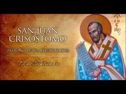 San Juan Crisóstomo,13 de Septiembre,Vidas Ejemplares