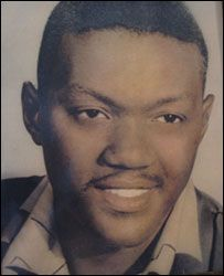ONEAL MOORE (1931-1965) was the first black deputy sheriff for the Washington Parish Sheriff's Office in Varnado, La. He was murdered by alleged members of the Ku Klux Klan in a drive-by shooting, June 2, 1965, as he was driving home from work, with his partner, Creed Rogers. No charges were filed in the case due to a lack of evidence. #Samaral/5