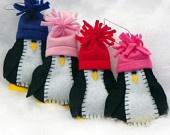 Rainbow Penguin Felt Christmas Ornament