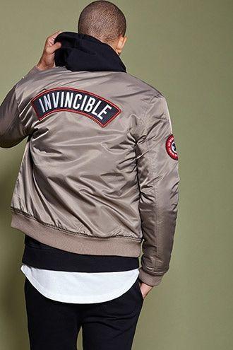 Blouson style aviateur «Invincible»