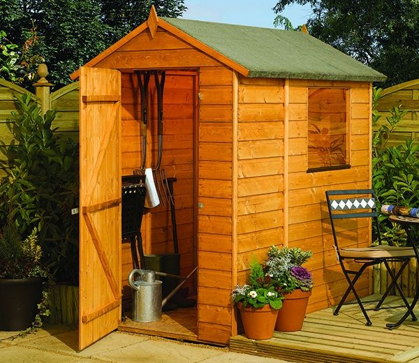 rowlinson modular shed 6ft x 4ft