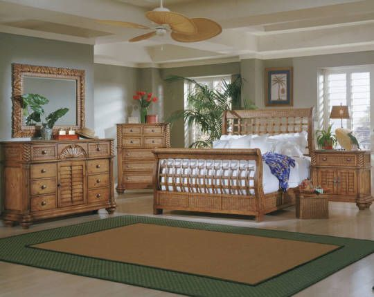 Tropical Bedroom Furniture Island Pine Tropical