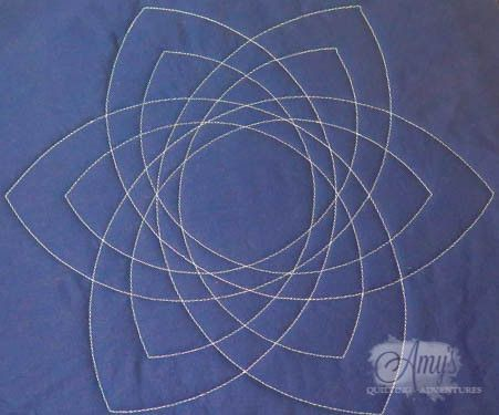 147 best my craftsy class images on pinterest free motion its like spirograph for quilters celtic knot quilting template for free motion quilting with rulers pronofoot35fo Images