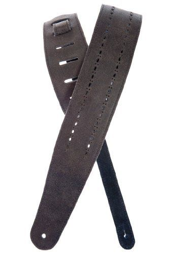 Planet Waves Vented Leather Guitar Strap, Black Rows by Planet Waves. Save 46 Off!. $25.40. From the Manufacturer                The Planet Waves Black Rows vented leather guitar strap is the perfect compliment to any guitar. A great choice for playing in warm weather or under the hot stage lights.The Vented Leather Strap Collection is made up of five unique, comfortable, and breathable leather straps with decorative designs perforated through the leather! The Collection offer...