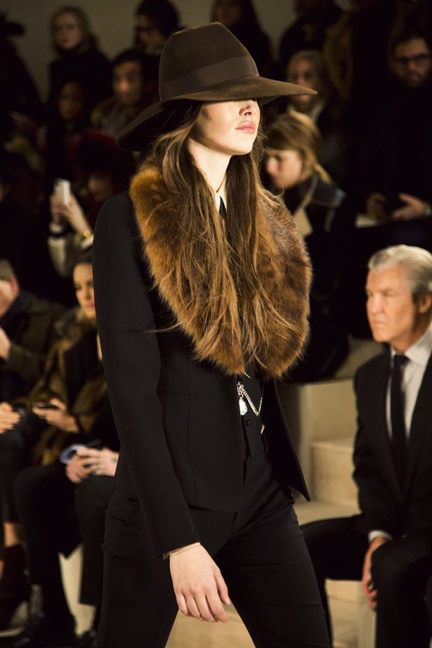 Ralph Lauren Fall 2015 collection show at New York Fashion Week