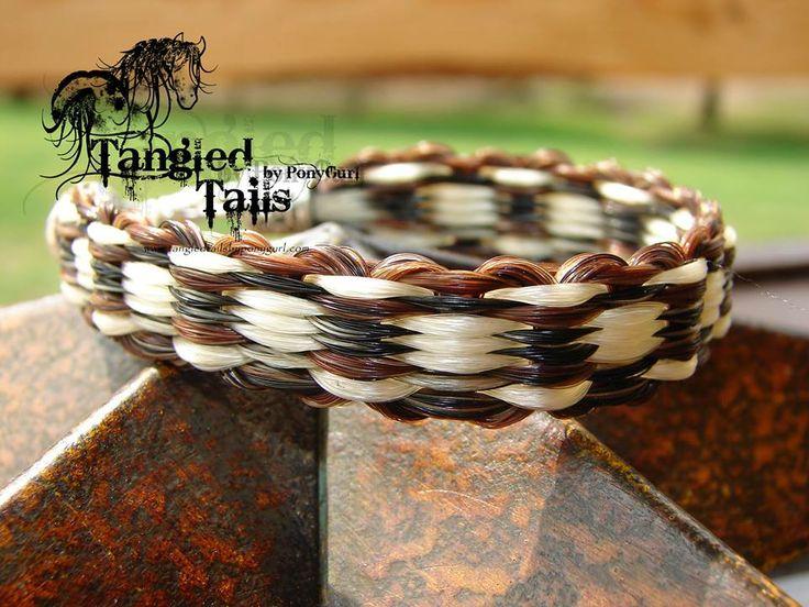 Horse hair jewelry / bracelet / keepsake