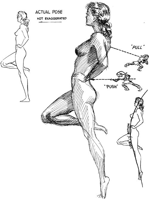 15-better-figure-drawing - exaggerate line of action