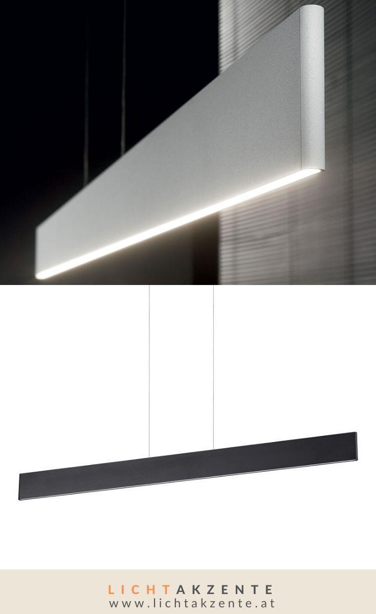 Ideal Lux schlichte LED Pendelleuchte Desk schwarz in 2020