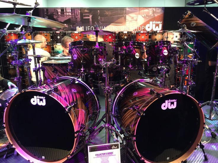 Drum Workshop Inc. (DW Drums) Collector's Series, exotic finish