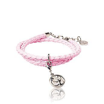 Charity Bracelet Light Pink Růžový náramek Charity