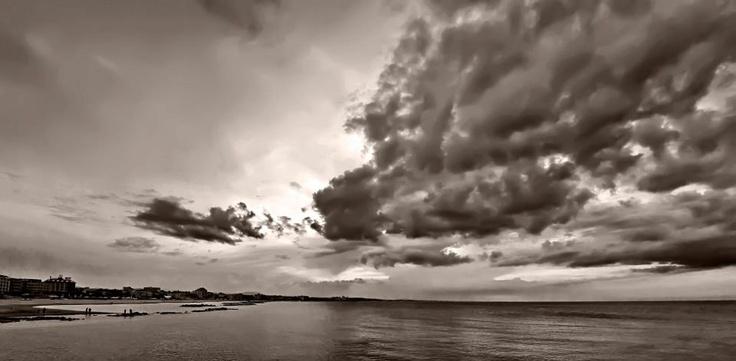 Il mare di Cattolica a Gennaio