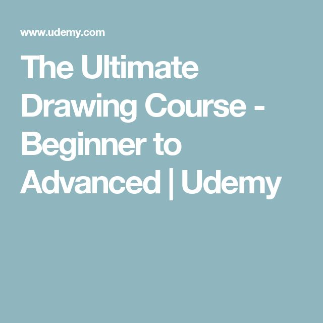 The Ultimate Drawing Course - Beginner to Advanced | Udemy