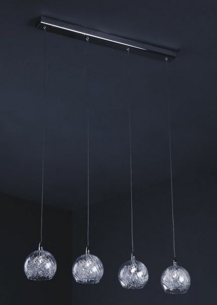Lampa wisząca SELMO firmy Italux P0220-04H-B5QL - Cudowne Lampy